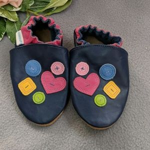 18-24 month Robeez first steps soft soled moccasin